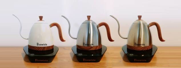 Brewista Artisan Digital Gooseneck Kettle Talk Coffee