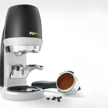 Puq Press Automatic Tamper Talk Coffee